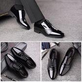 正裝男士皮鞋男尖頭夏季黑色增高男鞋英倫商務青年韓版休閒鞋透氣