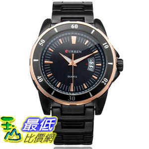 [國外直購] CURREN 8108 Alloy Band Quartz Men Wrist Watch 手錶