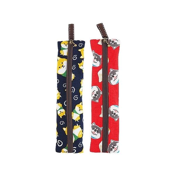 柴犬環保筷袋(1入)【小三美日】款式隨機出貨