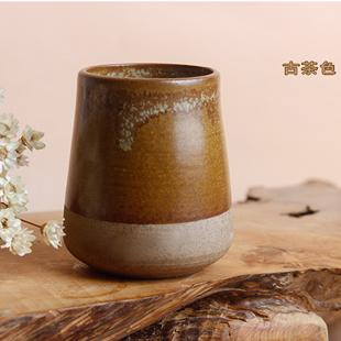 [銀聯網]  古樸陶藝品茗杯個人杯功夫茶具  2入