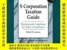 二手書博民逛書店S罕見Corporation Tax Guide 2001 (s Corporation Taxation Gui