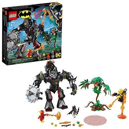 LEGO 樂高 DC Batman: Batman Mech vs. Poison Ivy Mech 76117 Building Kit (375 Pieces)