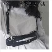 聖誕禮物 可拆卸背帶型皮質捆綁腰帶女