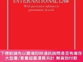 二手書博民逛書店Recognition罕見Of Governments In International LawY464532