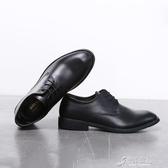 皮鞋 英倫男鞋男士透氣黑色百搭鞋子軟底工作商務正裝鞋夏季休閑皮鞋男 原本良品