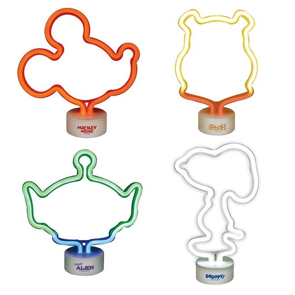 【日貨立體LED霓虹燈】Norns 日本進口 迪士尼 米奇 小熊維尼 三眼怪 NeonLED燈飾 家飾PARTY裝飾