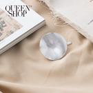 Queen Shop【07090266】不規則造型霧面髮簪*現+預*