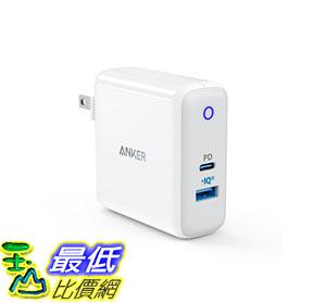 充電器 USB C Charger, Anker Dual Port 49.5W Wall Charger PowerPort II Power Delivery MacBook