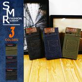 長夾-牛仔褲造型長夾-潮流造型款《7920136》綠色.藍色.黑色【現貨+預購】『SMR』