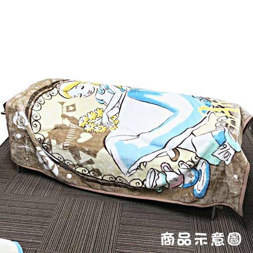 丸真 DISNEY 愛麗絲手繪圖案成人用單人毛毯L 奇幻兔子洞_RS65853