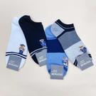 韓國男襪 船型襪 隱形襪 熊熊襪子 泰迪熊襪子 小熊襪