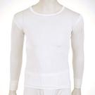 【碧多妮】男性純蠶絲圓領長袖衛生衣(D8002)