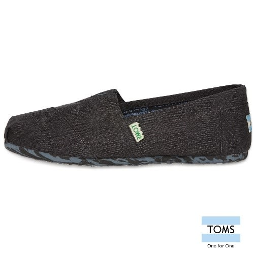 TOMS 經典環保系列懶人鞋-男款(10002747   BLACK)