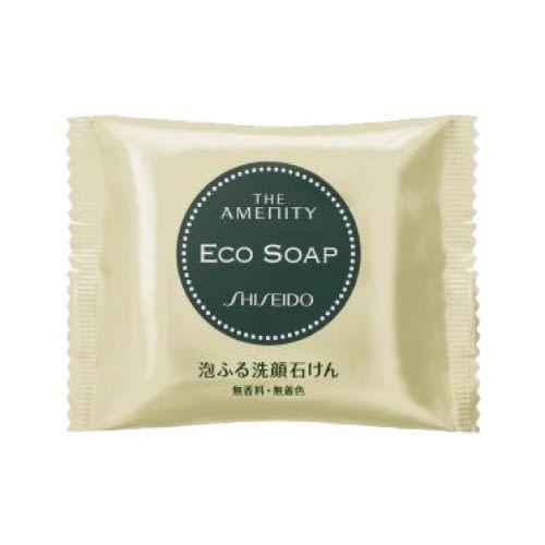 日本 SHISEIDO 資生堂 THE AMENITY ECO SOAP 泡泡洗顏皂 18G 【RH shop】日本代購