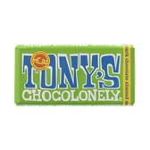 荷蘭Tony s Chocolonely杏仁海鹽黑巧克力51%180g