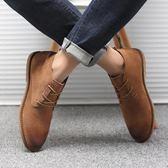 馬丁靴男英倫風高幫工裝男鞋中幫真皮透氣短靴復古休閒皮鞋潮