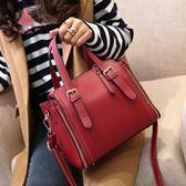 5色 大包包女包正韓大氣手提時尚單肩側背包斜背包皮包 巴黎時尚生活