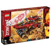 LEGO樂高 旋風忍者系列 70677 土地賞金號裝甲車 積木 玩具