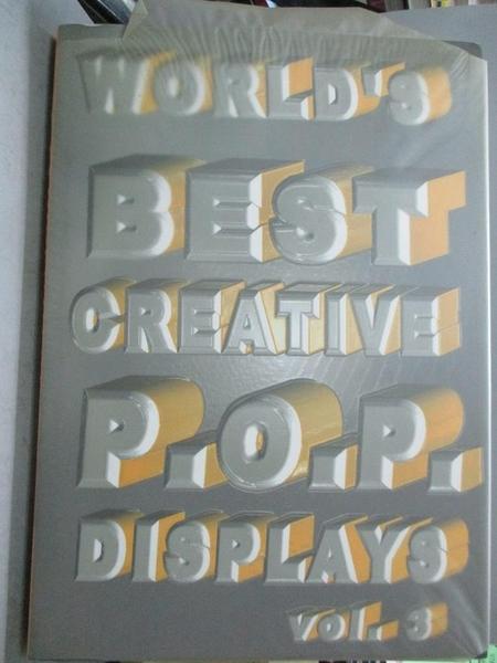 【書寶二手書T7/廣告_E8U】World s Best Creative P.O.P. Displays:Vol.3_Happy Books