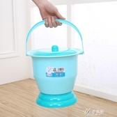 兒童屎尿桶小孩馬桶女寶寶嬰兒座便器便攜簡易男便盆把尿壺方便拉 伊芙莎
