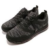DIADORA 慢跑鞋 黑 全黑 全氣墊 跑鞋 寬楦頭 緩震回彈 運動鞋 男鞋【PUMP306】 DA8AMC6050