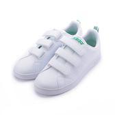ADIDAS VS ADVANTAGE CL CMF NEO 三魔鬼氈復古板鞋 白綠 AW5210 男鞋 鞋全家福
