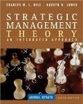 二手書博民逛書店《Strategic Management Theory》 R2