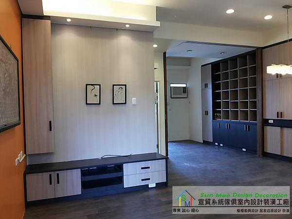 系統家具/台中系統家具/系統家具價格/室內設計/系統櫃/木工裝潢/系統衣櫃//電視櫃/sm0715