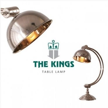 THE KINGS Descartes笛卡兒復古工業檯燈