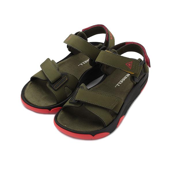 MERRELL 都會休閒 BELIZE CONVERT 涼鞋 橄欖綠 ML000810 女鞋