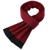 羊毛圍巾-針織拼色細條紋時尚男披肩3色73wh44【時尚巴黎】