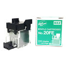 MAX 美克司 NO.20FE 電動訂書針/釘書針 2000支入 5盒組