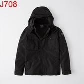 AF Abercrombie & Fitch A&F A & F 男 風衣外套 J708