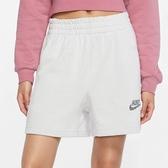 NIKE NSW 女裝 短褲 慢跑 休閒 透氣 環保材質 棉褲 灰【運動世界】CU6406-094