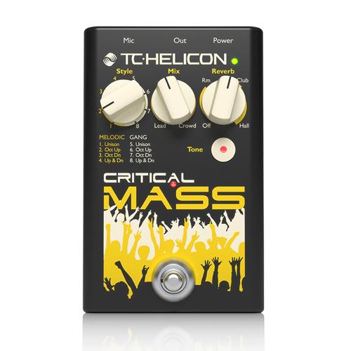 【敦煌樂器】HELICON Critical Mass 人聲效果器