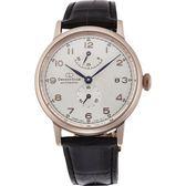 【台南 時代鐘錶 ORIENT】東方錶 RE-AW0003S 東方之星經典復刻款機械錶 皮帶 玫瑰金 39mm