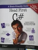 【書寶二手書T9/電腦_ZAQ】Head First C#_Stellman, Andrew/ Greene, Jenn
