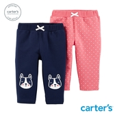 【美國 carter s】小狗造型2件組長褲-台灣總代理