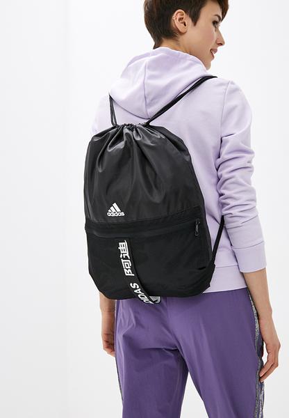 IMPACT Adidas 4ATHLTS Gym Bag Black 黑 白 束口袋 後背包 打球必備 FJ4446