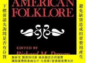 二手書博民逛書店Handbook罕見Of American FolkloreY256260 Edited By Richard