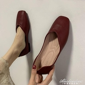 單鞋女平底學生豆豆鞋春季2020新款韓版百搭休閒鞋子平底亮皮女鞋 黛尼時尚精品
