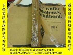 二手書博民逛書店the罕見radio amateur's handbook 19