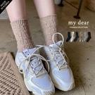 MD韓【A09200135】針織彩色毛線襪6色