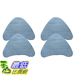 [106美國直購] 4 Highly Durable Washable & Reusable Steam Pads for Hoover WH20200, WH20300