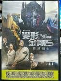 挖寶二手片-P05-387-正版DVD-電影【變形金剛5:最終騎士】-偷天換日-馬克華柏格(直購價)海報是影