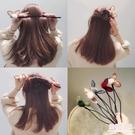 盤髮器 兔耳朵頭飾丸子頭盤髮器造型器韓國花苞頭百變神器蓬鬆懶人髮飾品 店慶降價