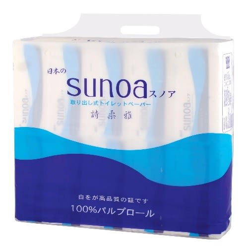 百吉牌SUNOA抽取式衛生紙120抽*60包
