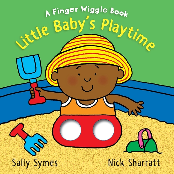 Little Baby's Playtime:A Finger Wiggle Book 寶寶玩耍手指遊戲書