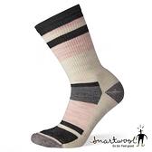 Smartwool 女 輕量減震徒步條紋中長襪『炭黑』SW001238 美國製|保暖襪|登山襪|運動襪