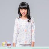 【WIWI】友情維尼溫灸刷毛圓領發熱衣(純淨白 童100-150)